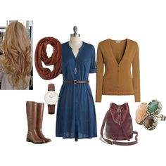 """""""Fall Dress"""" by nchavez113 on Polyvore"""