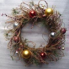 Fashionable Artificial Christmas Wreath