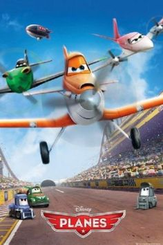 Amazon.com: Disney Planes Movie Teaser Poster - 91.5 x 61cms (36 x 24 Inches): Home & Kitchen