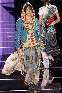 John Galliano, Spring/Summer, 2002,  Ready-to-Wear