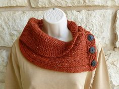 Ravelry: Shawl Collared Cowl pattern by Alana Dakos/pay pattern/project by letamarie.