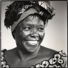 Wangari Muta Maathai (1940 – 2011) was a Kenyan environmental and political activist. In 1986, she was awarded the Right Livelihood Award, and in 2004, she became the first African woman to receive the Nobel Peace Prize. Maathai was an elected member of Parliament and served as assistant minister for Environment and Natural Resources.