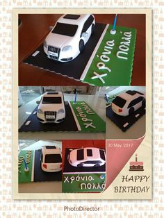 Audi s3 Sugarpaste chocolate flavour!!!!!