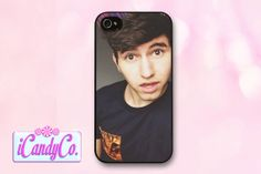 Phone case featuring Mr. JC Caylen! Available for iPhone 4, 4s, 5, 5s, + Samsung Galaxy S3 or S4. Cute cover! Gift for girls.