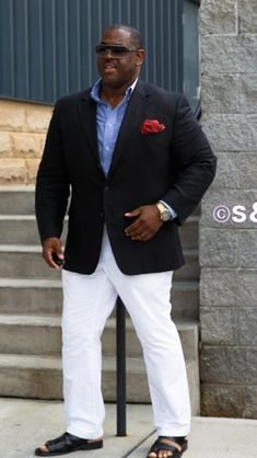 BigTall Fashion big guys with style. BHM Well besides the sandals...blah                                                                                                                                                     More                                                                                                                                                                                 More