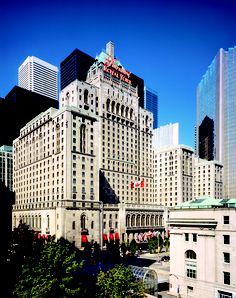 A Toronto landmark, the Fairmont Royal York Hotel. Stayed at this hotel in June 2003