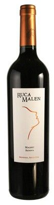 2007 Bodega Ruca Malen Malbec Kinien Mendoza, 90 Points | International Wine Cellar , January/February 2010  Bright medium ruby. Blackberry pastille, violet, tobacco, herbs and pepper on the nose, complemented by sexy roasted oak. Lush and sweet on entry, then dense, silky and fine-grained in the middle, with sneaky intensity to the black fruit flavors. Ripe balancing acids and smooth tannins give this persistent, suave wine a solid structure for further development in bottle.