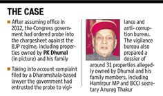 The Himachal Pradesh government has sought Punjab's assistance in providing more information on the properties owned by former chief minister Prem Kumar Dhumal and his family in the neighbouring state. #Punjab #News