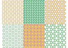 Seamless Patterns Vectors 104934 -  Vector graphics set with abstract patterns. Multicolored layouts with ellipses, circles, curved shapes, waves, sparkles and stylized flower blossoms. Free vectors for wallpapers, backgrounds, backdrop images, business cards, posters, flyers, adverts, clothing prints and fabric patterns.  - https://www.welovesolo.com/seamless-patterns-vectors-2/?utm_source=PN&utm_medium=welovesolo%40gmail.com&utm_campaign=SNAP%2Bfrom%2BWeLoveSoLo
