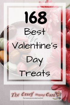 Need some yummy and tasty treats for your Valentine that won't break the budget? There are over 150 of the best homemade treats and sweets collected here, all in one place! Happy Valentine's Day - these desserts look delicious!  168 Best Valentine's Day Sweets | The Crazy Shopping Cart