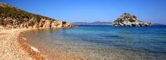 Patmos: a small Greek island in the Aegean Sea.