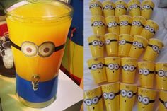 Minion dispenser and cups