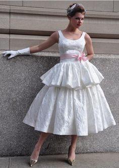 vintage wedding dress #vintage #wedding #tealength