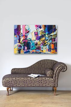 Violet By Rebecca Moy Gallery Wrapped Canvas Print