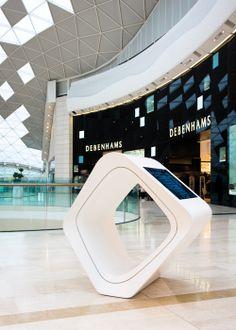 Solid Surface material for shopping malls – HI-MACS®
