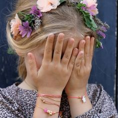 Nacre Bracelet with Star- Louise Misha