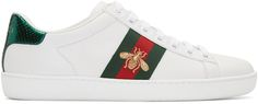 En cuir, de Gucci - Shopping mode: les baskets du moment