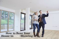 How to Rent Your House in One Showing | Renting your house out is the most stressful part of being a landlord. Here's how to rent your house with 5 easy tips!