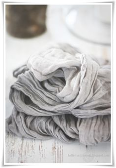Beautiful grey scarf will dress up anything!