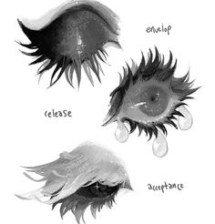 grossly endearing, open your eyes and see Digital Painting Tutorials, Digital Art Tutorial, Art Tutorials, Art Drawings Sketches, Cool Drawings, Poses References, Art Poses, Eye Art, Art Reference Poses