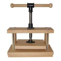 *Beech Wood Relief Printing Press- 31x21