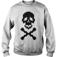 Pirate pixel art crossed bones T shirt #gift #ideas #Popular #Everything #Videos #Shop #Animals #pets #Architecture #Art #Cars #motorcycles #Celebrities #DIY #crafts #Design #Education #Entertainment #Food #drink #Gardening #Geek #Hair #beauty #Health #fitness #History #Holidays #events #Home decor #Humor #Illustrations #posters #Kids #parenting #Men #Outdoors #Photography #Products #Quotes #Science #nature #Sports #Tattoos #Technology #Travel #Weddings #Women