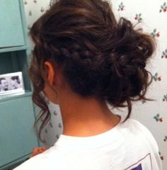 long hair prom updos - Google Search