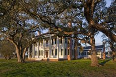 This home is a recorded Texas historic landmark built in 1857; the original 2,000-acre plantation was established in 1836.  (RESTORATION PICS)