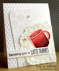 Such a Pretty card by Lysa using Simon Says Stamp Exclusives.