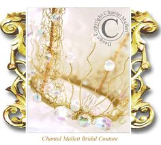 Chantal Mallett Wedding Accessories: Crowns, Coronets, Tiaras & Head-dresses.