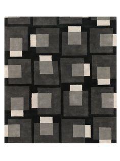 Chandra Nicholas Rug (Grey) Square away your d