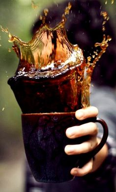 Coffee splash!