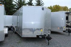 2016 Fast Trac 85202 by Wells Cargo (Stock Num Snowmobile Trailers, Cargo Trailers, Horse Trailers, Used Rvs, Toy Hauler, Wells, Motorhome, Recreational Vehicles, Camper Van
