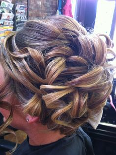 Wedding updo :) Liz at Karma Salon