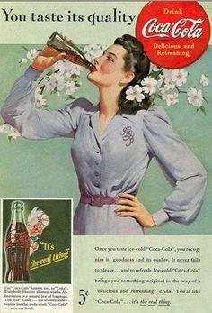 Coca Cola Vintage, Pub Vintage, Funny Vintage, Vintage Signs, Coca Cola Poster, Coca Cola Ad, Always Coca Cola, Pin Up Retro, Retro Ads