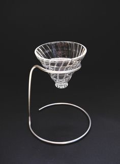OUVER STAND - Stainless Steel Edition - Pour Over Coffee Station. Handcrafted in Germany.