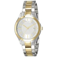 Espirit Analog For Women - Prime Watches, Watches Online, Michael Kors Watch, Gold Watch, Jewelery, Stuff To Buy, Accessories, Shopping, Women