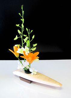 Curly Maple Ikebana vase - Display beautiful floral arrangements by HoffmasterWoodworks on Etsy https://www.etsy.com/listing/212792937/curly-maple-ikebana-vase-display