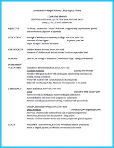 Teaching Assistant Resume Sample  StudentCareer