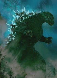 Godzilla. Image only.