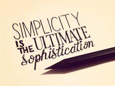 Simplicity...
