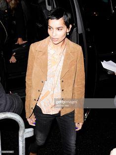 February 5, Zoe Kravitz, Black Beauty, New York City, Hair Beauty, Suit Jacket, Street Style, Blazer, News