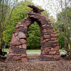 Lebury Arch -entrance to garden or orchard