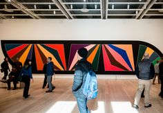 "Frank Stella's ""Damascus Gates"" Temporary Architecture, Art And Architecture, Frank Stella, Damascus, Installation Art, Furniture Decor, Gates, Design, Gate"