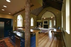 Remodeled Church for a home