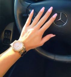 """Oval Nails - """"Mod About You"""" OPI - Michael Kors Watch."""
