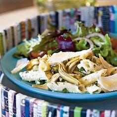 Pasta with Artichokes and Fresh Ricotta Recipe