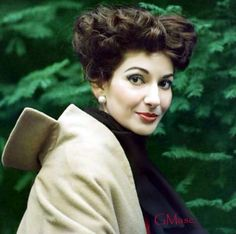 Callas - this must be an extremely rare photo