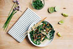 Rice Noodle Salad wi