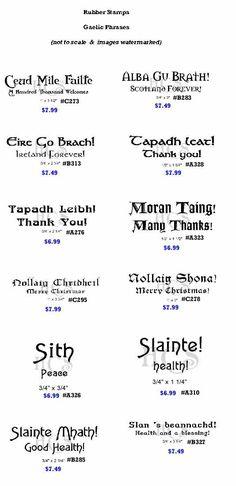 435 best gaelic images on pinterest irish irish language and irish sayings in gaelic translation sayings in gaelic httptartanthistle fandeluxe Images